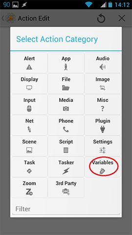 Show counter for notifications in UCCW with Tasker variablesShow