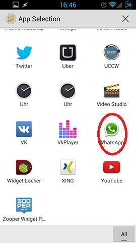 einstellung whatsapp android