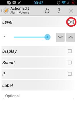 Alarm Volume Task