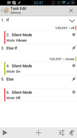 Silent Mode Toggle