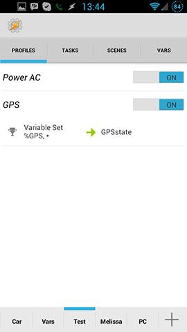 GPS State Profile