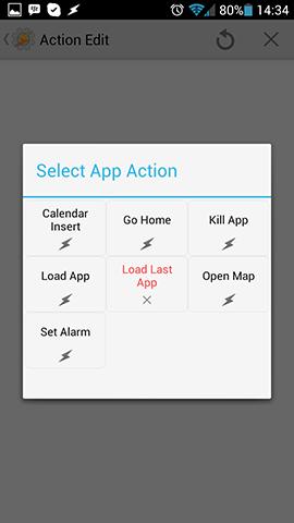 App Action