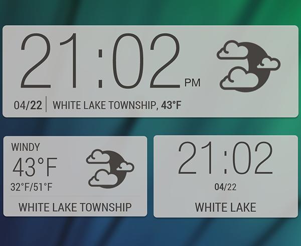 Zooper Sense 6 Widgets
