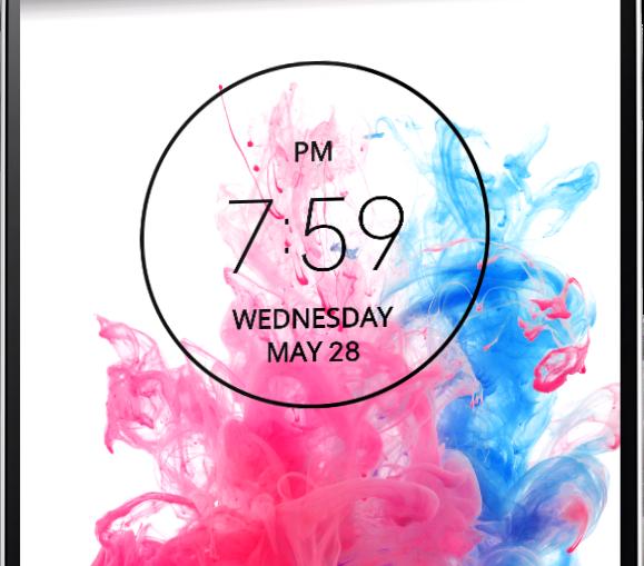 G3 Circle Clock