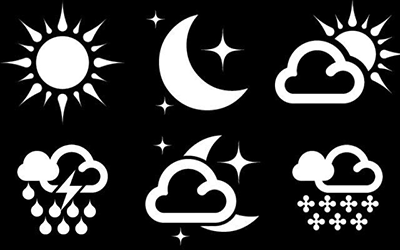 Zooper 1Weather replica Iconset