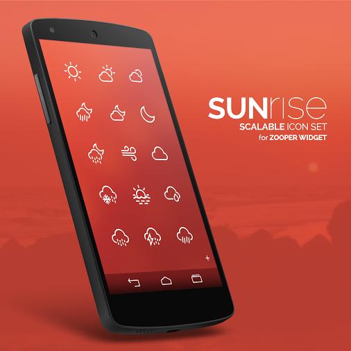 Sunrise Iconset