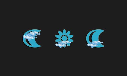 Zooper Blu Weather Iconset