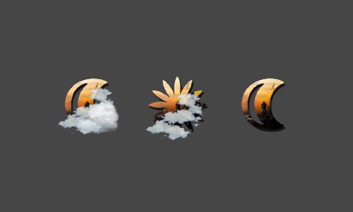 Zooper Borobudur Weather Iconset