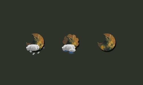 Zooper Pagan Weather Iconset