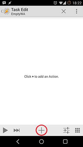 Tasker Kustom Add Action