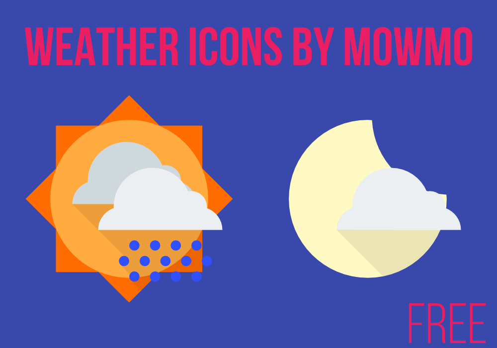 Weather Icons by mowmo