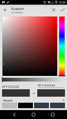 Kustom Color Picker