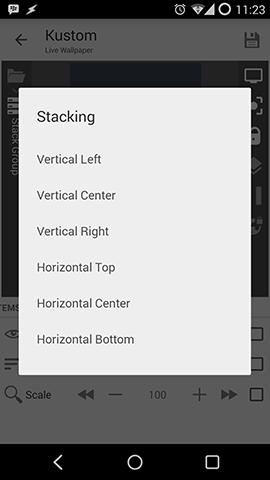 Kustom Stack Group Stacking